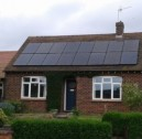 Black Solar PV Panel Installations  - Rushden, Bedfordshire