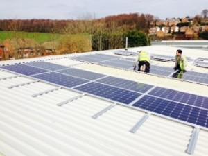 Commercial Solar Installation – Customer review2