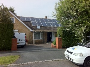 Solar PV Installation – South Heath, Grt Missenden Buckinghamshire
