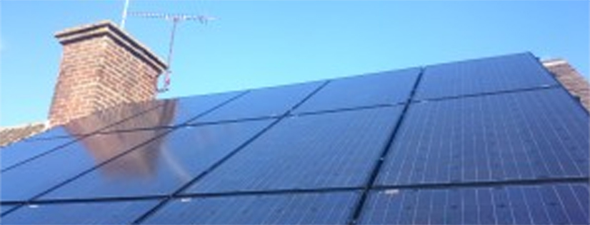solar pv at Roof