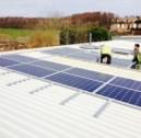 Commercial Solar Install in Chesham