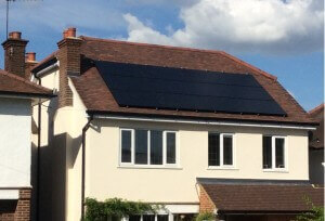 Solar PV install in St Albans