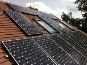 Solar PV in roof top