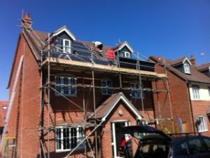 solar Panel installation 300x225